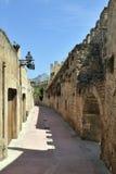 Paredes históricas da cidade em Alcudia Fotografia de Stock Royalty Free