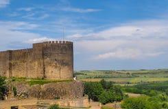 Paredes históricas del ` del sur del ` de Diyarbakir, Turquía foto de archivo