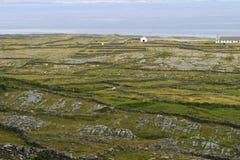 Paredes irlandesas de la roca Imagen de archivo