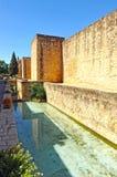 Paredes medievales de Córdoba, España Fotos de archivo libres de regalías