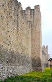 Paredes medievales de Marostica en Vicenza en Véneto (Italia) Foto de archivo libre de regalías