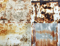 Paredes oxidadas Fotografía de archivo