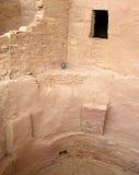 Paredes que desmenuzan en Mesa Verde fotos de archivo libres de regalías