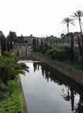 Paredes y agua de Palma Foto de archivo