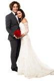 Pareja casada jóvenes preciosos Fotos de archivo libres de regalías