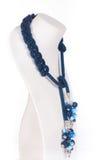 Parels, beadworks op wit Royalty-vrije Stock Fotografie