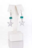 Parels, beadworks op wit Royalty-vrije Stock Afbeelding