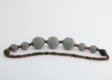 parels die in de Afrikaanse stijl worden uitgevoerd Royalty-vrije Stock Foto