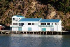 Paremata Boating Club. On Paremata Rd, Porirua - Mana. Wellington. New Zealand Royalty Free Stock Photos