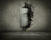 Parement de votre côté en noir Photographie stock libre de droits