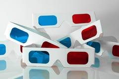 Paren 3D glazen Stock Fotografie