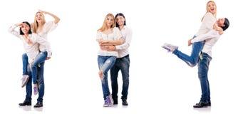Paren av mannen och kvinnan Arkivfoton