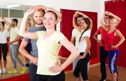 Paren het dansen Latino dans Stock Foto's