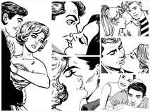 Paren in liefde Royalty-vrije Stock Fotografie