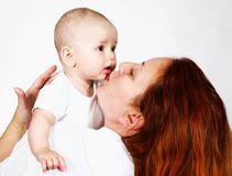 Parent with baby Stock Photography