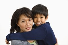 Parent and child Stock Images