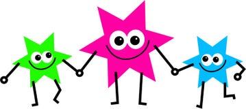 Parent d'étoile Images libres de droits