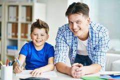 Parent et enfant Photographie stock