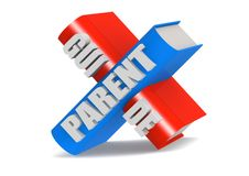 Parent guide Royalty Free Stock Images