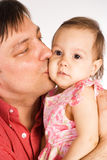 Parent with kid Royalty Free Stock Images