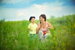 Parent love Stock Images