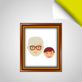 parent picture  design Royalty Free Stock Images