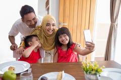 Family love taking selfie Royalty Free Stock Photo