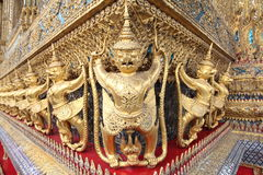 Parent in Wat Phra Kaew, Grand Palace, Bangkok, Thailand Royalty Free Stock Photos