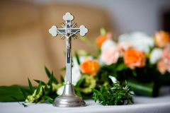 Parental blessing for marriage details Stock Photography