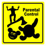 Parental Control Royalty Free Stock Images
