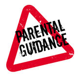 Parental Guidance rubber stamp. Grunge design with dust scratches. Effects can be easily removed for a clean, crisp look. Color is easily changed vector illustration