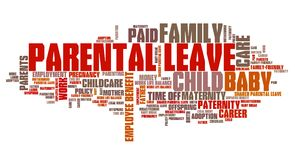 Parental leave Royalty Free Stock Photo