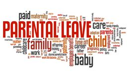 Parental leave Stock Photo