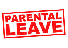 PARENTAL LEAVE Royalty Free Stock Image