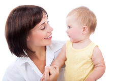 Parental love concept Stock Image