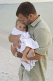 Parental love and protection Stock Image