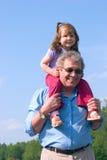 Parentes felizes Foto de Stock Royalty Free