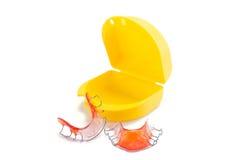 Parentesi graffe dentarie Fotografia Stock