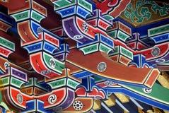 Parenthèses de toit de mausolée de Zuihoden Images libres de droits