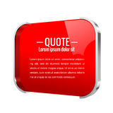 Parentheses sign. Quote, message Stock Images