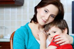 Parenting Fotografia Stock Libera da Diritti