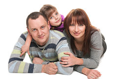 Parenting et amour Photo libre de droits