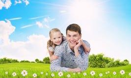 Parenting felice Immagine Stock