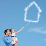 Parenting felice Immagini Stock Libere da Diritti