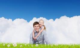 Parenting feliz Imagem de Stock