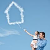 Parenting heureux Images libres de droits
