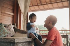 Parenting love stock photography