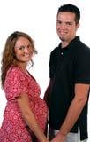 Parents à être couples dans l'amour Photos libres de droits