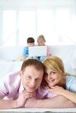 parents photo libre de droits