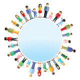 Parents And Children From Around The World Stock Images